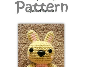 MyLittleZooFriends Series - Pinky Bunny (PDF Pattern)