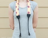 SALE Half Off Everything  --  DSLR - SLR Camera Strap - Anna Maria Horner