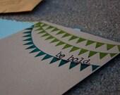 Gocco print 4x6 mixed paper book