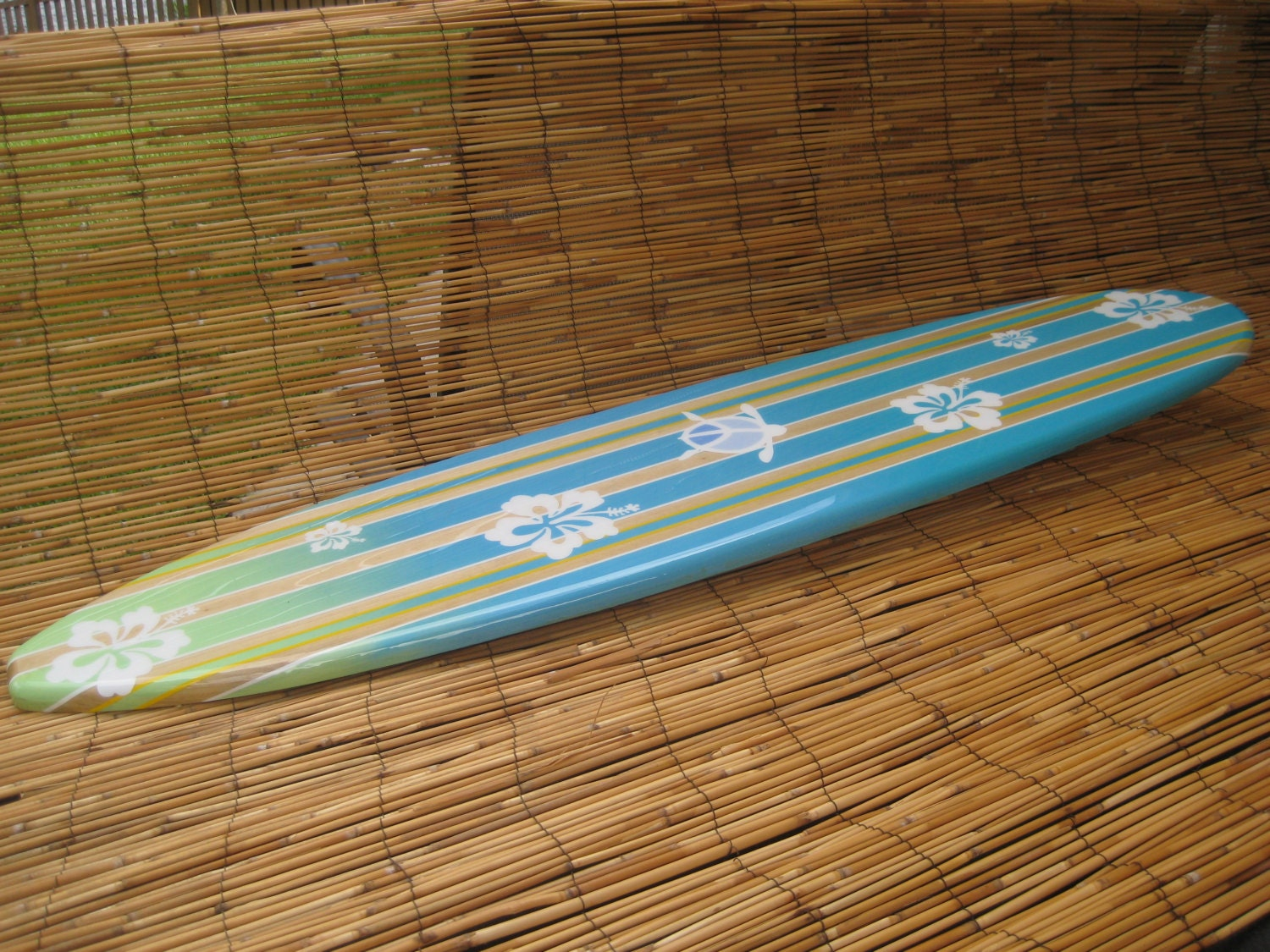 Decorative wooden surfboard wall art for a hotel restaurant zoom amipublicfo Images