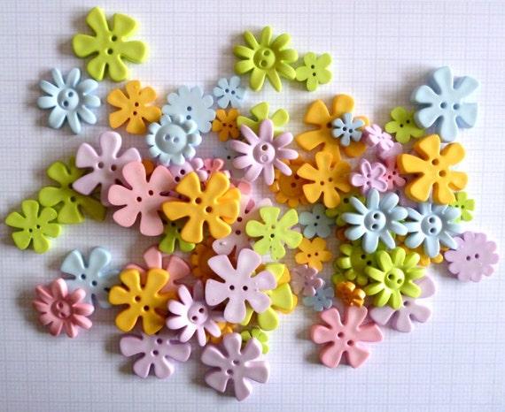FLOWER buttons x100g