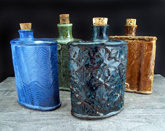 Groomsmen's Set of Flasks