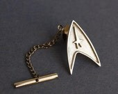 Star Trek sterling silver  tie pin / pin