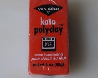 Kato Poly Clay in Orange 3 oz