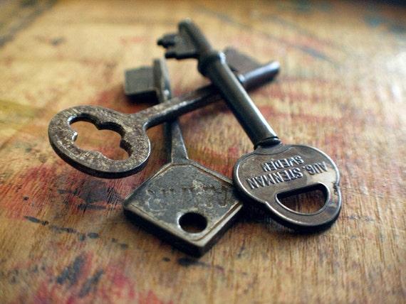 Antique Skeleton Keys - The Swede Trio