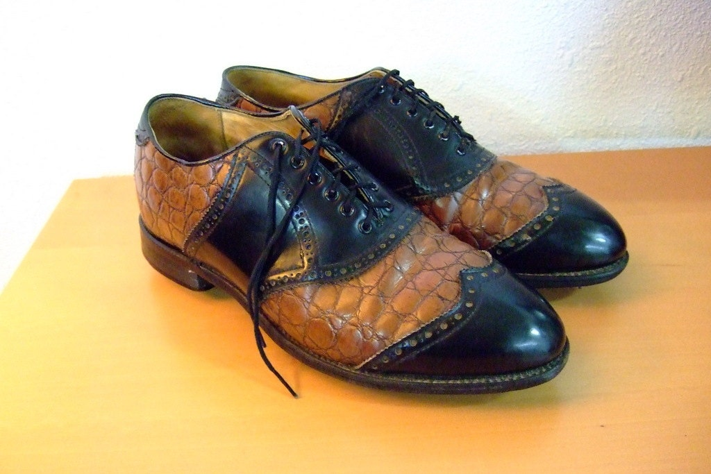 Mens Size  Vintage Golf Shoes