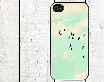 iphone 6 case Flock of Birds Cell Phone Case - for iPhone 4,4s & iPhone 5