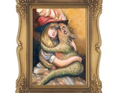 The Secret- Signed and Numbered Giclee Print - Edition Limited to 50 - Unframed
