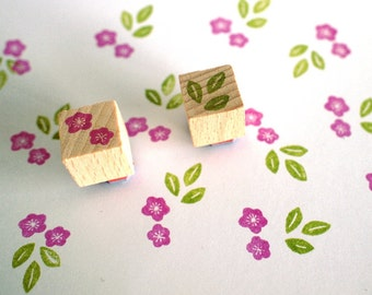 plum blossom (ume) - mini stamp set
