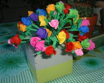 Paper Flowers Mexican Crepe Paper