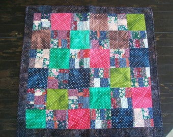 Crazy One Patch Quilt