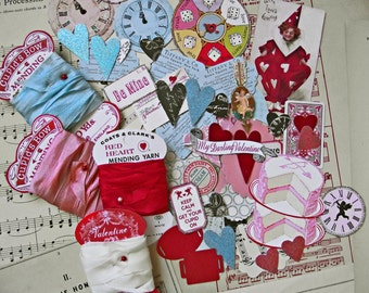 Valentine crafting kit