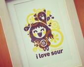 i love sour