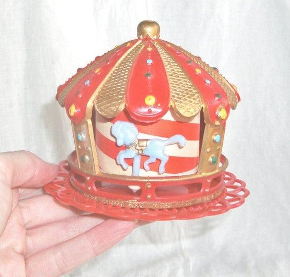 Vintage Wilton Carousel Cake Topper Cake Decorating Supplies