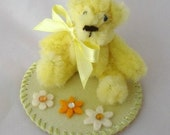Tiny Ted Yellow (A) Pipe Cleaner Bear
