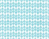 Moda Fabric - Pond Blue Swirls - Fat Quarter