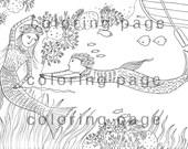 instant digital download - printable coloring page Nr.15