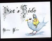 Let's Ride - Book of art and poems of dubious merit - suitable for all ages