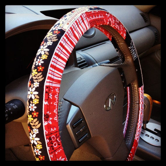 Gypsy Soul Hippie Chic Steering Wheel Cover By Whoopsiedaisies