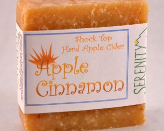 Apple Cinnamon Beer Soap