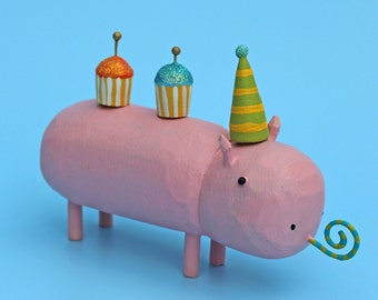 Birthday Hippo
