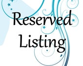 Reserved listing for yarnNcats