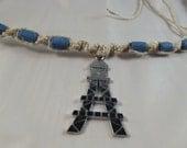 The Eiffel Tower Hemp Necklace