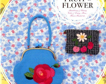 Keiko Matsuyama's Fruit and Flower Patchworks - Japanese Patchwork Craft Book