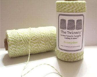 Honeydew Bakers Twine - Green & White