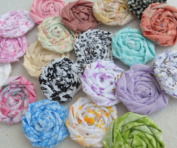 CUSTOM ORDER Rolled Roses