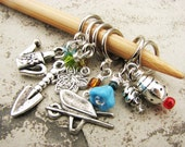The Potting Shed Non-Snag Stitch Markers for Gardeners