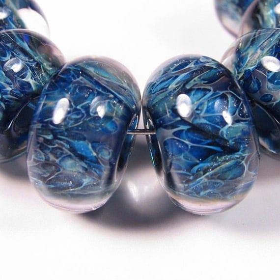 Mystic Sea Kaleidoscope - BBGLASSART - Lampwork Boro Beads