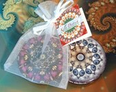 Pocket Mirror Special - Buy 3, Get 1 Free - Great Teacher Gifts, Wedding Favors, or Thank You Gifts -  Choose from Over 40 Designs