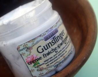 Whipped Soap for Men Gunslinger 2 oz Mini Creme Fraiche VEGAN