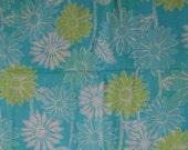 "Lilly Pulitzer fabric ""Sleepy Daisy""  18 inch by 18 inch"