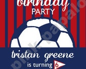 DIY Soccer Birthday Party package