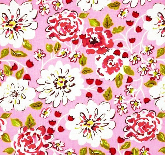 Tea garden ying ming floral dena designs sateen home decorator for Dena designs tea garden fabric