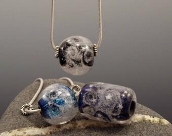 Medium Sized Focal - Glass Memorial Bead