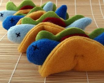 Fish Taco Catnip Toy