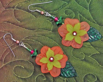 Sunny Happy Flower Earrings to bring a glow into your life...