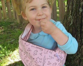Children's Toy Sling - soft flannel for dolls and imaginative play