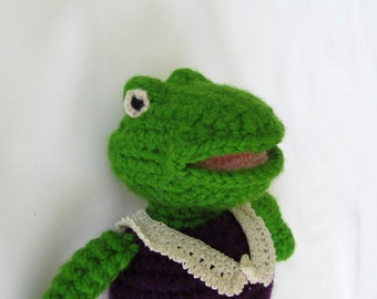 Amigurumi Madame Frog Doll