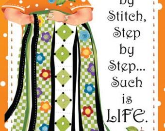 Magnet - FAITH, Stitch by Stitch