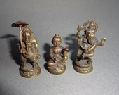 Hindu Figurines Murtis or Deva made of Brass