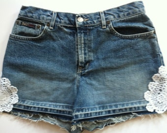 Altered Couture Jean Shorts