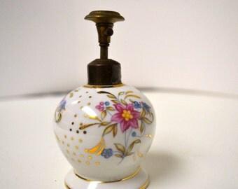 Vintage Porcelain Perfume Atomizer
