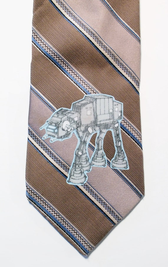 AT AT Imperial Walker (star wars) Old Style Necktie