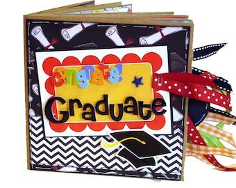 Graduation Scrapbook - Paper Bag Scrapbook - Photo Album