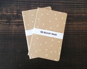 Small Canvas Hand-painted Notebook