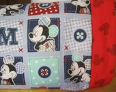 Mickey Mouse I only have fabric for 3 of these  MINI Pillowcase kids/travel pillowcase